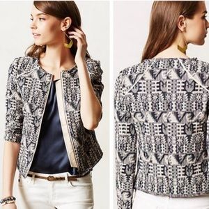 Anthropology Hei Hei Faifo Jacket Sz 0 LB